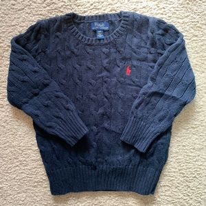 Polo Ralph Lauren Cable-Knit Cotton Sweater - 4T